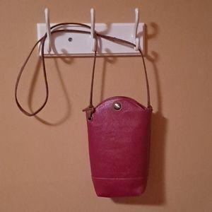 NWOT Heroing Red Crossbody/Smartphone bag